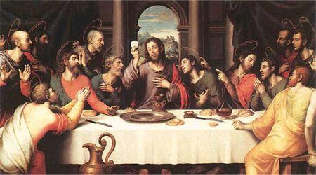 JEZUS en MARIA Groep.: WITTE DONDERDAG: HET LAATSTE AVONDMAAL. http://jezusmariagroep.blogspot.be/2014/04/witte-donderdag-het-laatste-avondmaal.html