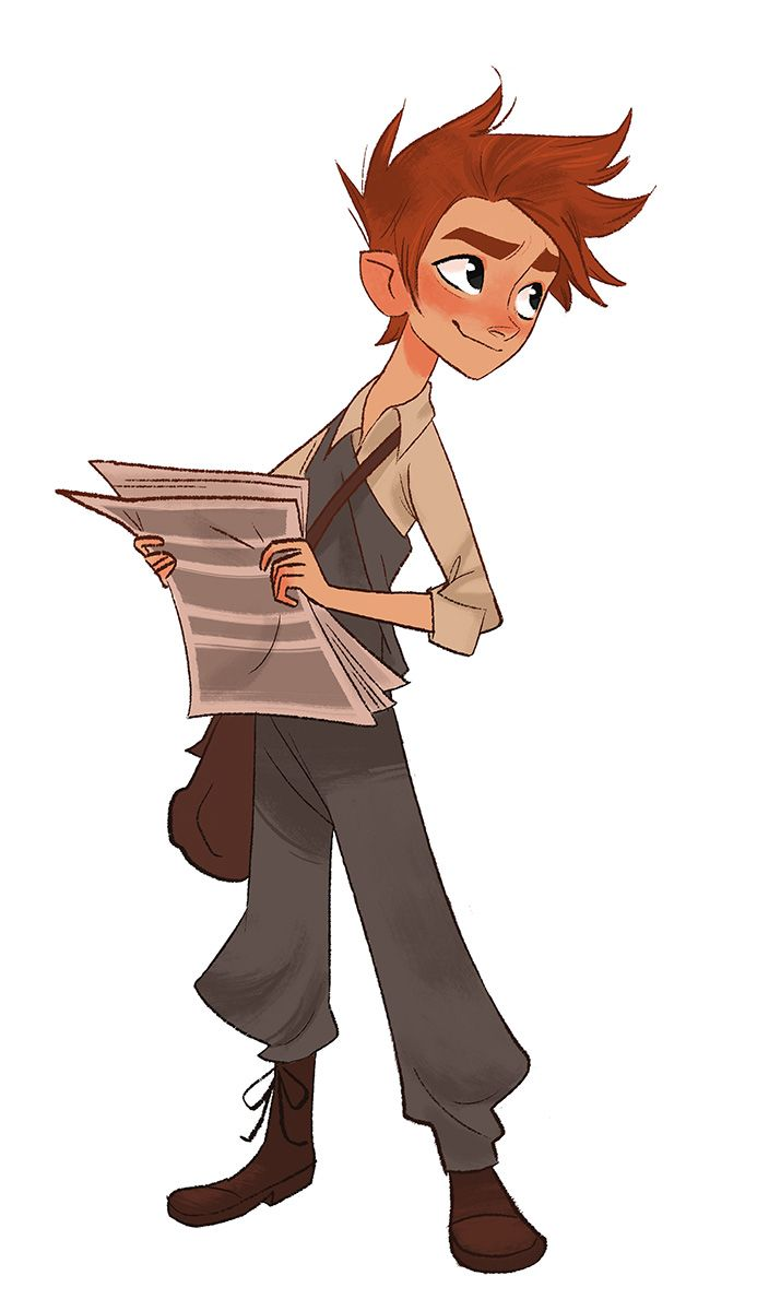 My newspaper boy inventor again