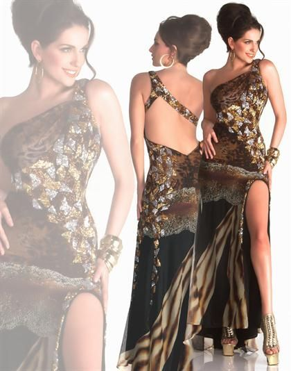 Animal Print Prom Dress  Size 2 - New With Tags (NWT) $409 retail Selling for $149, plus shipping. final sale