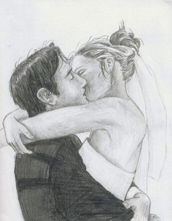 268 best character celebs music artist drawings and pencil sketches of people kissing wedding kiss by lezzybum ccuart Choice Image