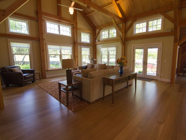 South County Post Beam Inc Gallery Timber Frame Post And Beam Homes In 2020 Timber Frame Post And Beam Timber Frame Homes