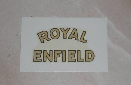Royal Enfield hinteren Kotflügel Abziehbild ab 1945 - Royal Enfield Abziehbilder und Aufkleber - Teile - Ersatzteile für englische Motorräder - Vintage Motorcycle