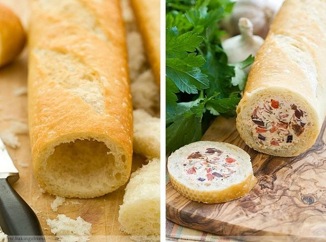 Stuffed Baguette Recipe | Our Daily Ideas