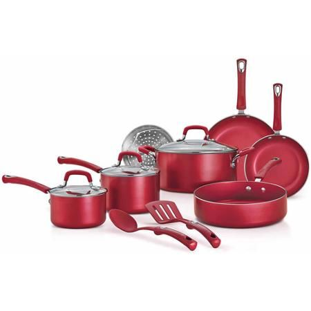 Tramontina 12-Piece Style Nonstick Cookware Set - Walmart.com