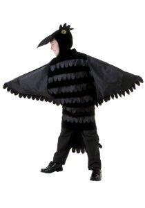 big boys niño cuervo disfraz pequeño