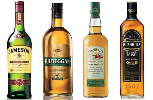 Irish Whiskies....