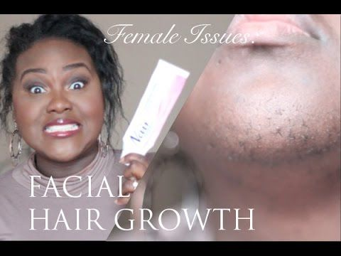 ▶ Female Issues: Excess Facial Hair Growth   PCOS   My Facial Hair Routine   Chanel Boateng - YouTube
