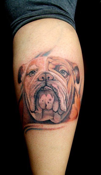 43 best hot tattoos images on pinterest bulldog tattoo english bulldogs and british bulldog. Black Bedroom Furniture Sets. Home Design Ideas