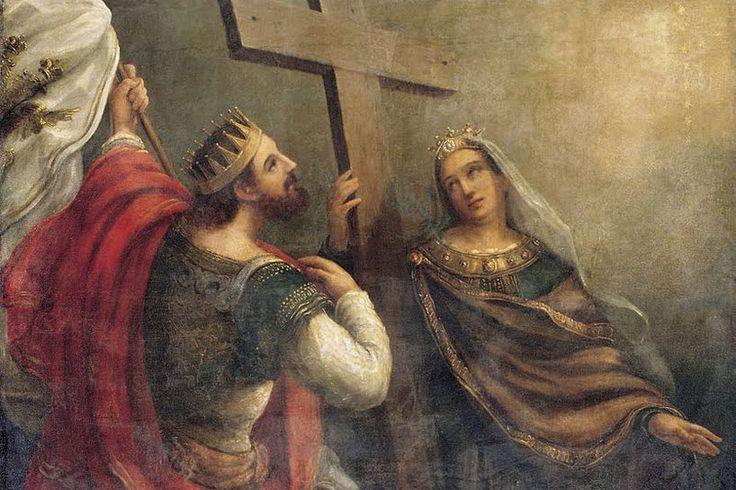 18 de agosto. Hoy celebramos a ... Santa Elena, reina