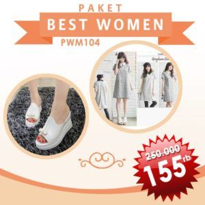 Paket Best Women Squad White