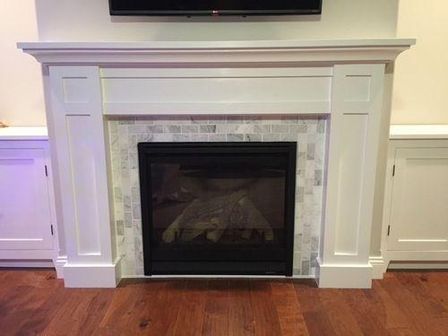 Best 25 craftsman fireplace mantels ideas on pinterest for Craftsman style fireplace mantel plans