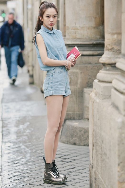 All over Denim, a great summer and fall look, maybe even spring