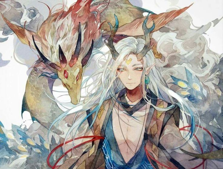 Chinese Boy Japanese Art Folklore Character Design Inspiration Anime Boys Onmyoji Game Demons Reference