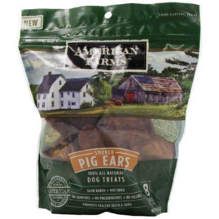 American Farms Original Pig Ears Chews Dog Treat