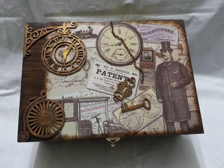 Porta relógio masculino