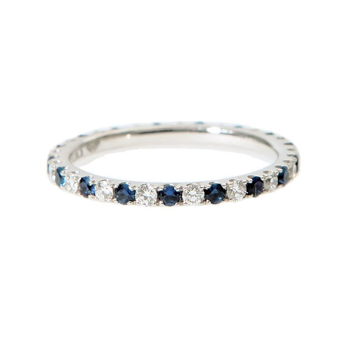 Editors Favorites Womens Wedding Bands Sapphire