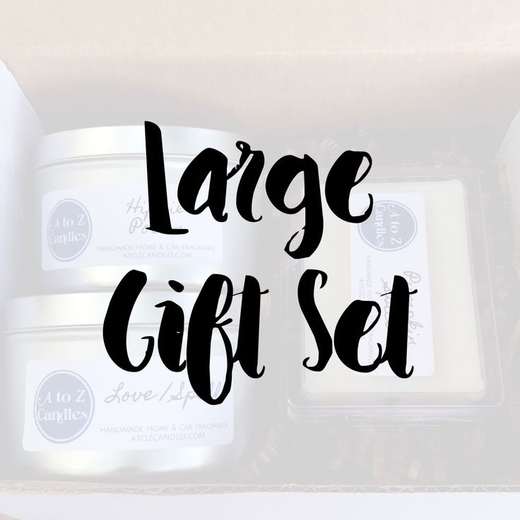 Candle Gift Set, Birthday Gift Set, Wax Melt Gift Set, Soy Candle, Soy Wax Tart, Gift Box, Holiday Gift Set, Christmas Gift Set, Vegan Gift by AtoZCandles on Etsy https://www.etsy.com/listing/478898949/candle-gift-set-birthday-gift-set-wax