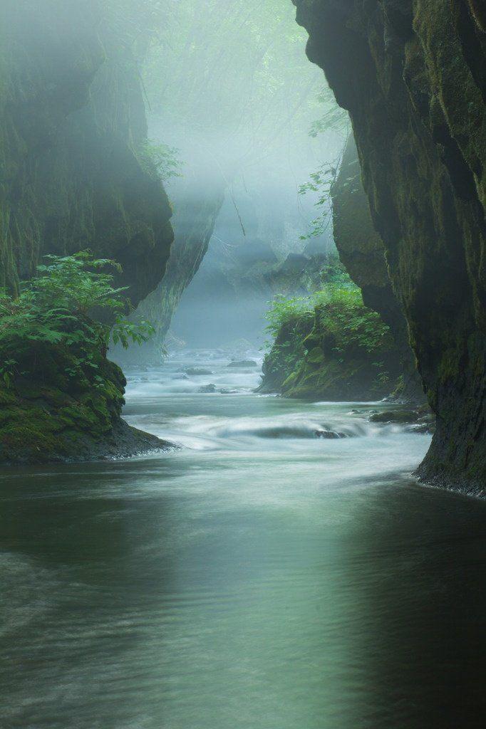 Tarumae gorge, Hokkaido, Japan ♥Click and Like our FB page♥