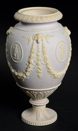 Wedgwood, Cream Color on Light Taupe Jasperware at Replacements, Ltd