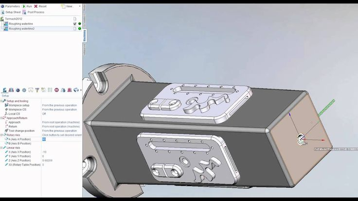 New SprutCAM tutorial video by Jake Steuber, SprutCAM America. How to index and transform toolpaths on a Tombstone using the 4th Axis www.sprutcam.com