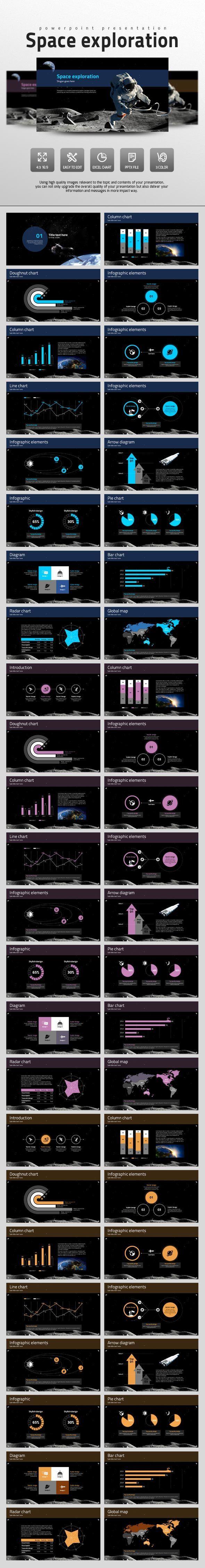 Space Exploration (PowerPoint Templates)