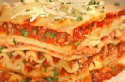 resep memasak lasagna