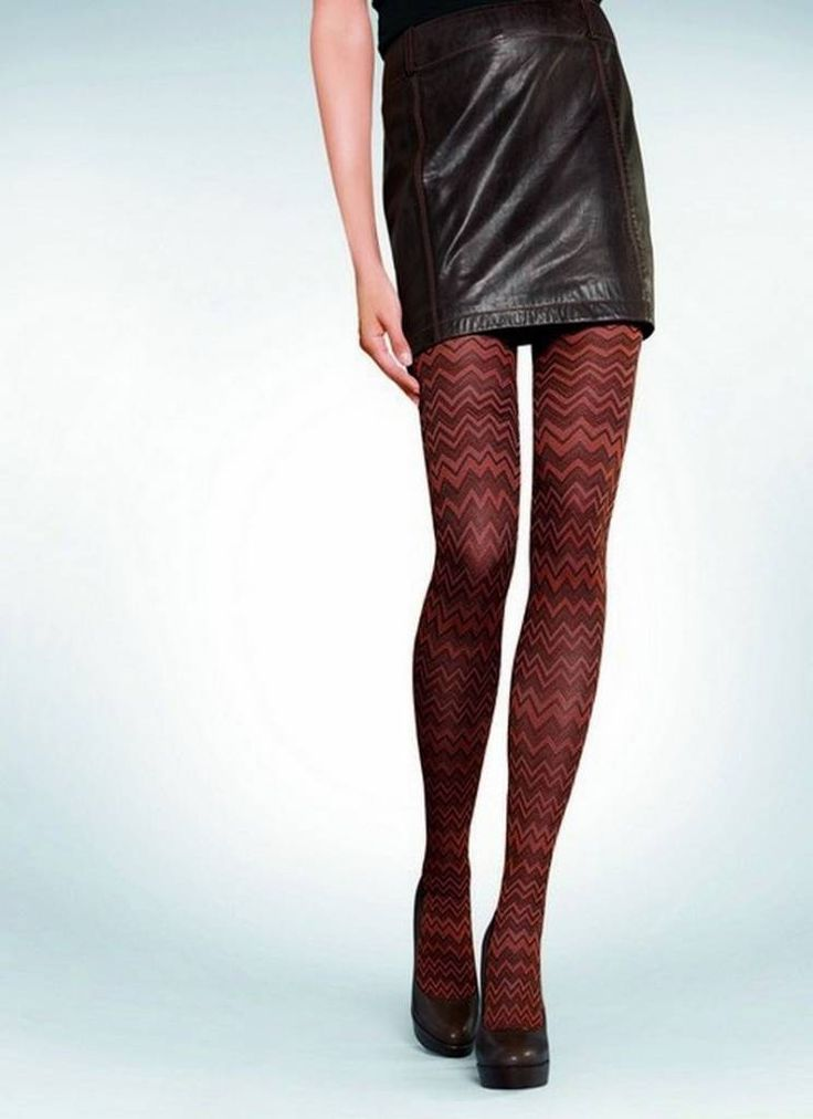 Hudson Casual ZigZag panty Red / Ginger | Hudson