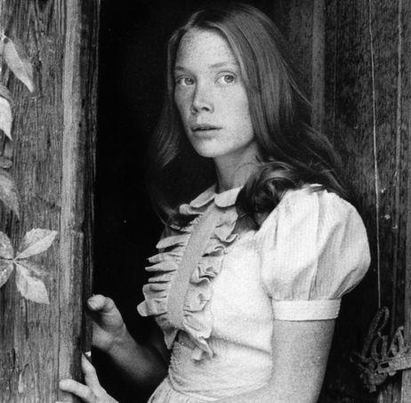 sissy spacek, carrie, 1976Film, Face, Sissy Spacek, Style Icons, Movie, Actor, Beautiful People, Badlands, Actresses