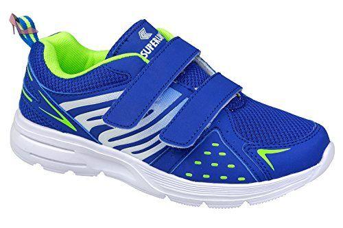 gibra , Baskets pour femme - bleu - blau/neongrün, - Chaussures gibra (*Partner-Link)