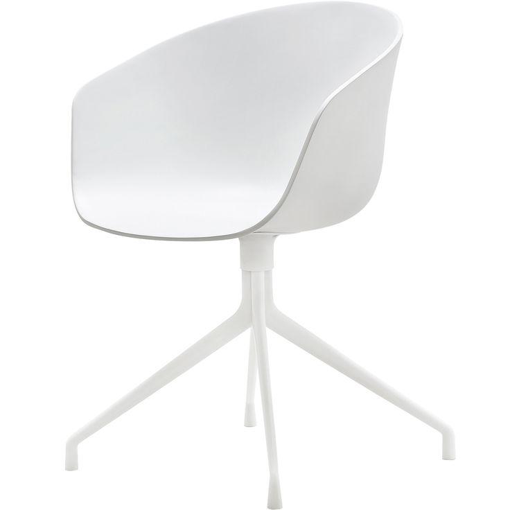 About a Chair 20 snurrstol, vit/vit i gruppen Möbler / Stolar & Pallar / Stolar hos RUM21.se (123640)