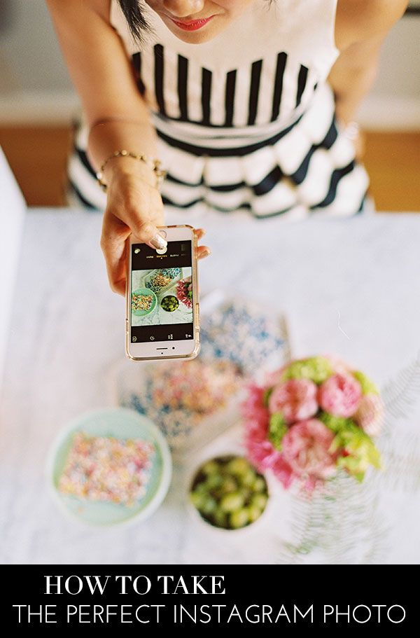 How To Take The Perfect Instagram Photo | theglitterguide.com