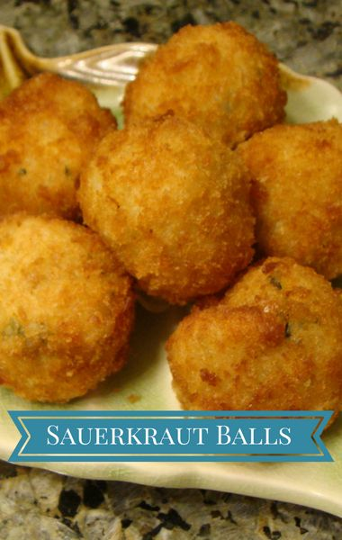 Anything fried is guaranteed to be good, right? Michael Symon proved that even sauerkraut can be transformed with a little batter and oil, with his recipe for Sauerkraut Balls.