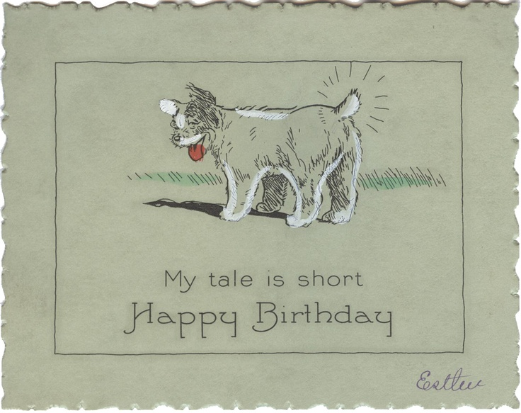 1927 -- Hallmark birthday card (unmarked, but on page 44 of The Very Best from Hallmark: Greeting Cards Through the Years by Ellen Stern)