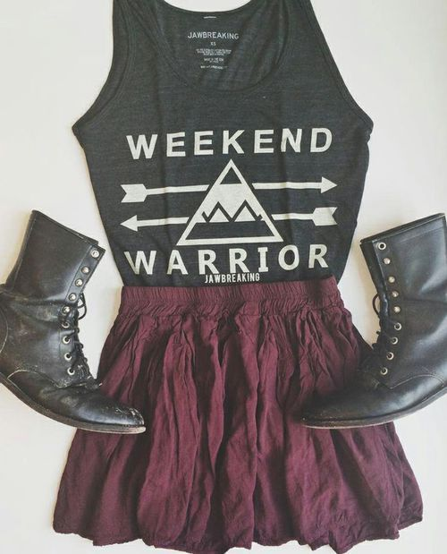 Awesome concert/festival outfit.