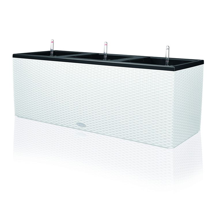 Have to have it. Rectangle Lechuza Trio Cottage 40 Self-Watering Resin Planter - $379.95 @hayneedle