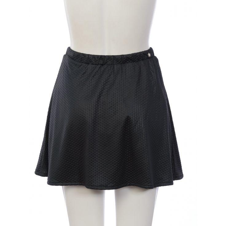 Falda Mars negra de #KOSIUKO