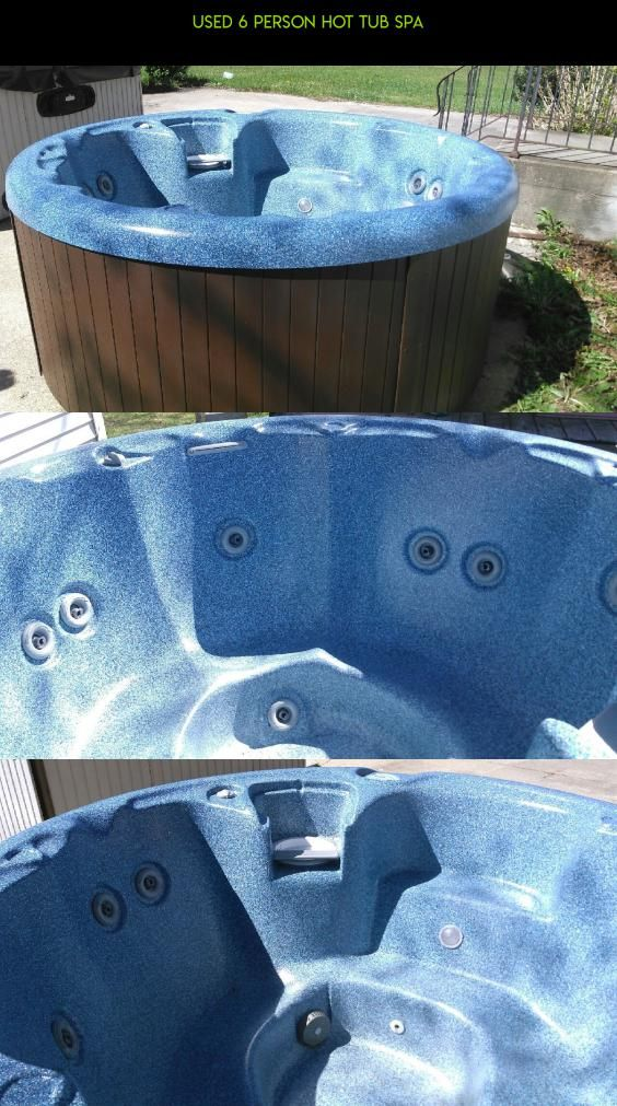 USED 6 PERSON HOT TUB SPA #sale #technology #kit #fpv #tech #hot #gadgets #for #camera #plans #racing #used #products #shopping #tubs #parts #drone