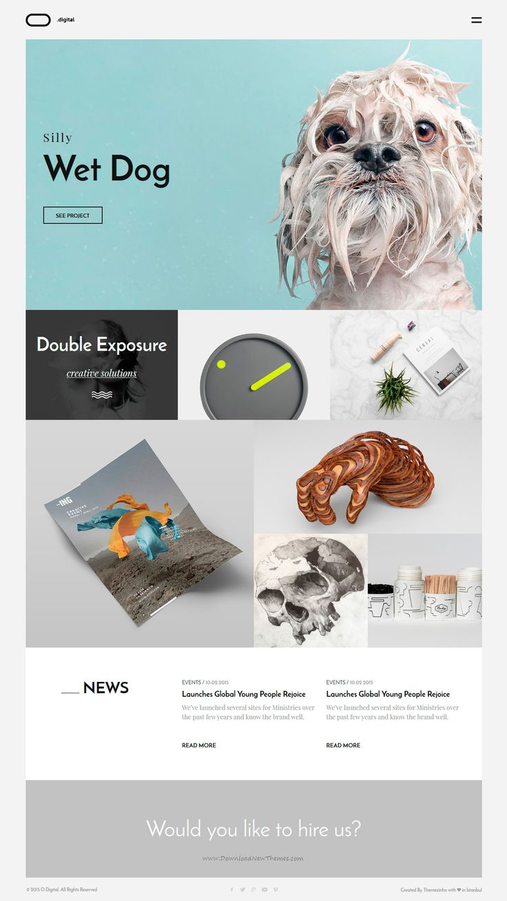O Digital – Creative Portfolio Muse Template gives solutions for all kind of digital purposes. Also amazing css animations and transitions makes item more attractive and unique. #creative #website