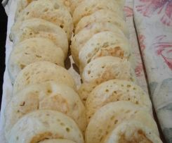 Crumpets Thermomix - need round rings