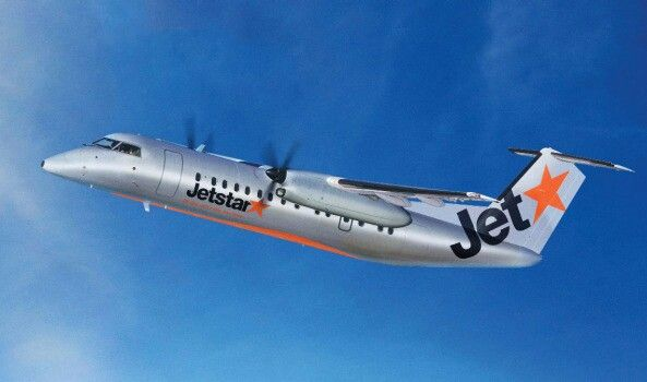 Jetstar Dash 8-300, Jetstar announced it will use five Dash 8 aircraft to fly new regional routes in New Zealand, June 2015 image 3rd Level New Zealand