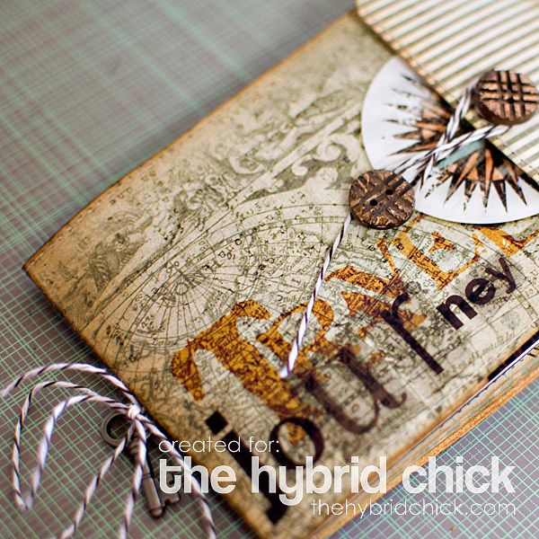 Envelope Travel Album – The Hybrid Chick