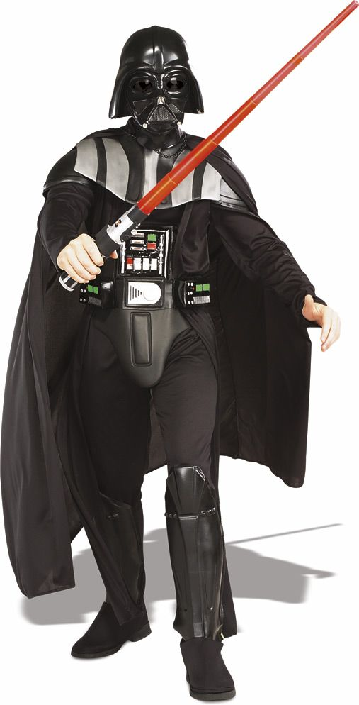Deluxe Star Wars Adult Darth Vader Costumes - Adult Star Wars Costume  (Chris)