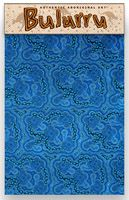 Bulurru Cotton Teatowel On Walkabout Blue Code: TT28 Size: 50cm x 75cm (approx) Price: $10.50 or 2 for $20.00