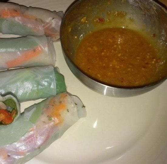 Your Inspiration at Home Vietnamese Cold Rolls. #YIAH #ThaiCurry
