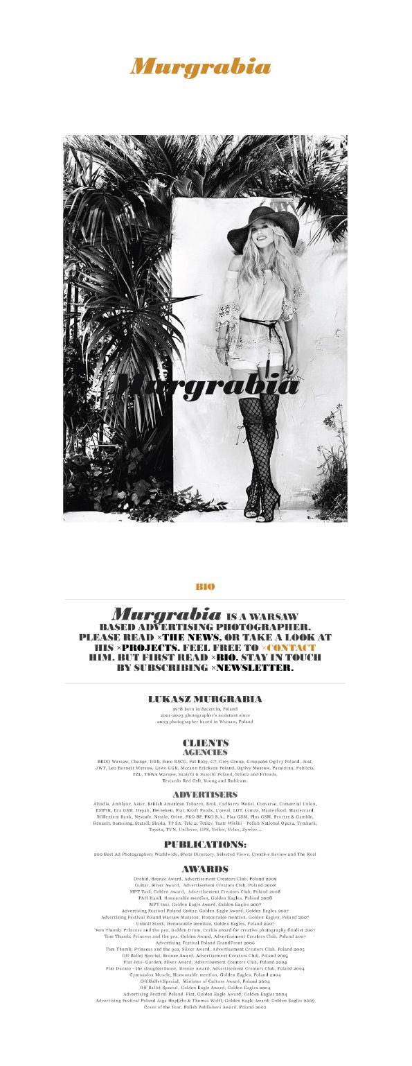 Murgrabia Photography - Branding