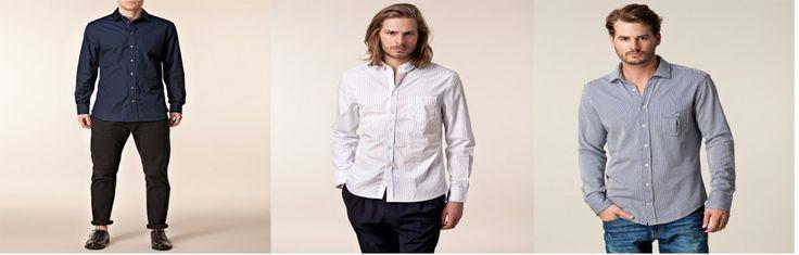 Lidt flere pæne skjorter.