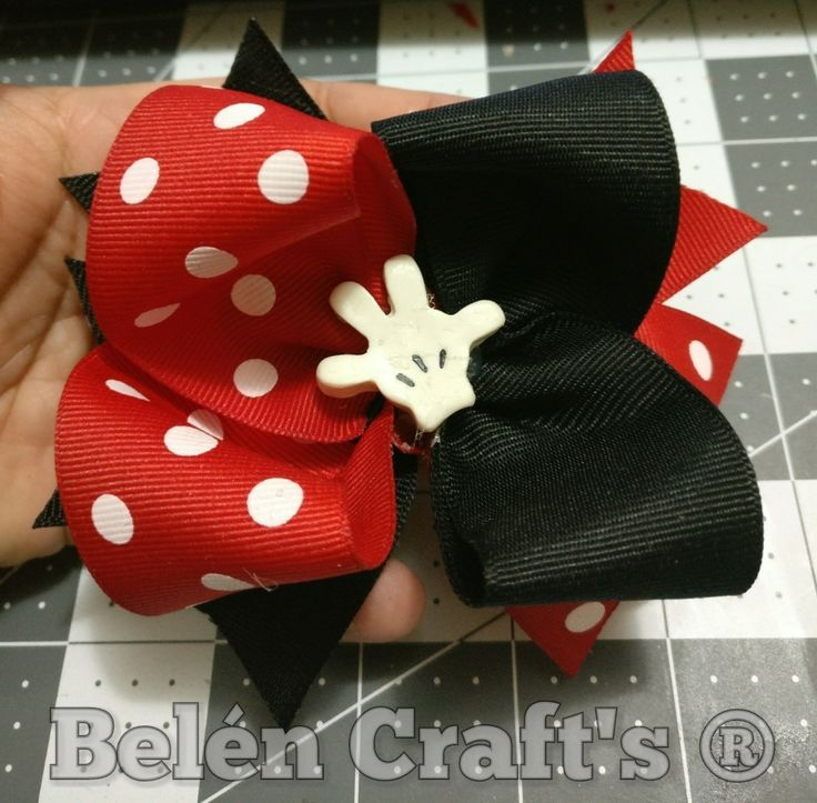 Moño Mickey Mouse