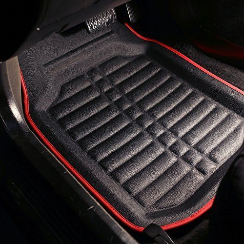 Fh Group Tray Style Car Mats Deep Tray All Weather Floor Mats 4
