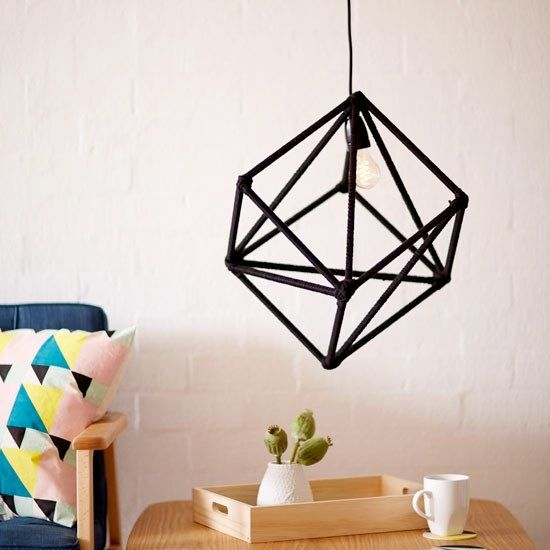 Geometric Lightshade - from Riot Art & Craft