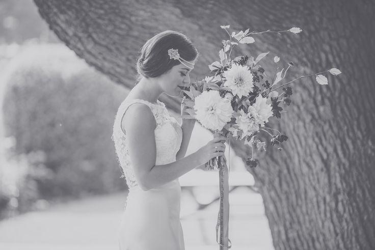 Beautiful bride, beautiful bouquet   Bridal Makeup by Laura Mac, North Yorkshire Makeup Artist